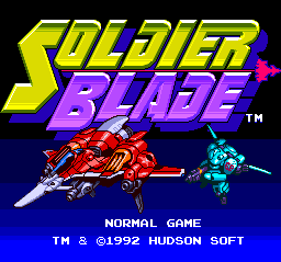 Soldier Blade (Normal Mode)